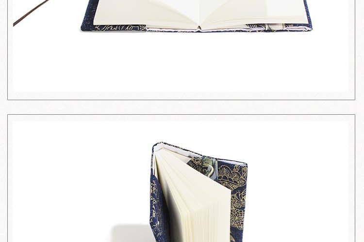 Retro Totem Handmade Cloth Book Cover Notebook Cloth Book Cover Hand Account A5A6 Adjustable Book Jacket 5