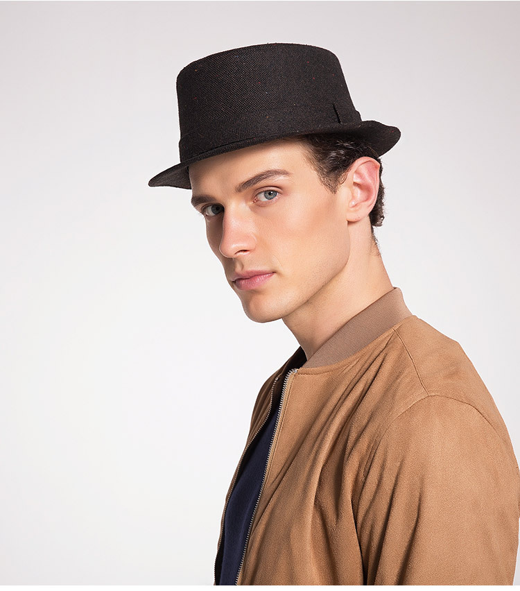 Men's Autumn And Winter New Style Hats Custom Factory Outlet Woolen Hats British Simple Trend Hats 3