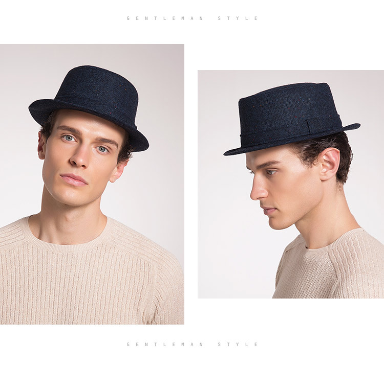 Men's Autumn And Winter New Style Hats Custom Factory Outlet Woolen Hats British Simple Trend Hats 2