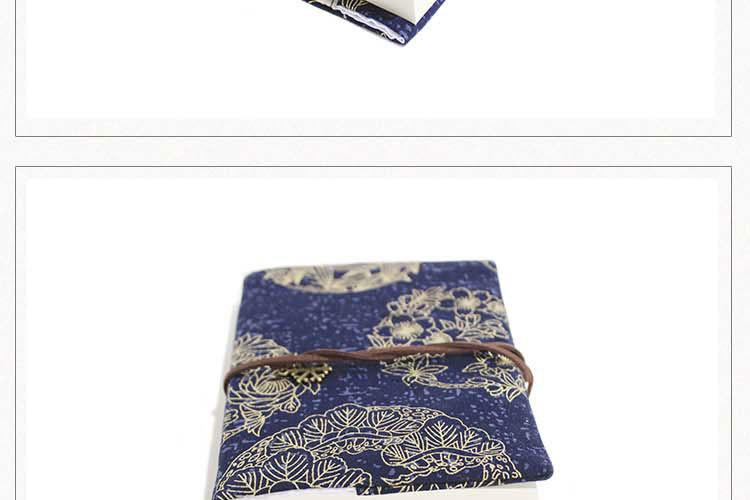 Retro Totem Handmade Cloth Book Cover Notebook Cloth Book Cover Hand Account A5A6 Adjustable Book Jacket 3