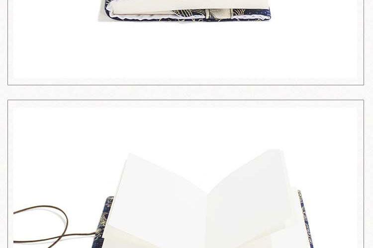 Retro Totem Handmade Cloth Book Cover Notebook Cloth Book Cover Hand Account A5A6 Adjustable Book Jacket 4