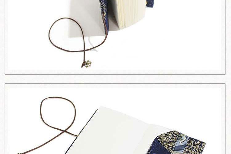 Retro Totem Handmade Cloth Book Cover Notebook Cloth Book Cover Hand Account A5A6 Adjustable Book Jacket 6