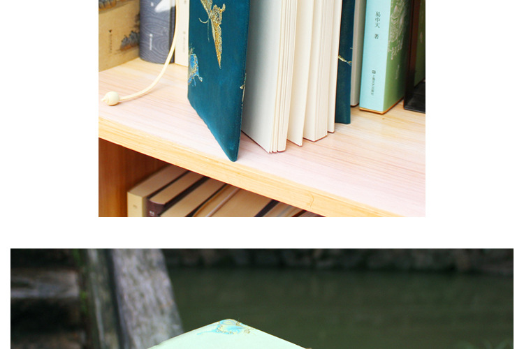 Vintage Butterfly Handmade Cloth Book Cover Notebook Cloth Book Cover Hand Account A5A6 Adjustable Book Jacket 5