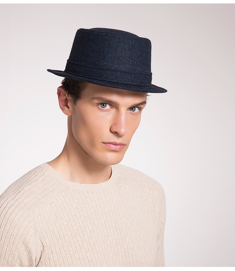 Men's Autumn And Winter New Style Hats Custom Factory Outlet Woolen Hats British Simple Trend Hats 1