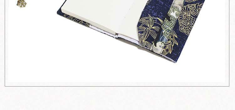 Retro Totem Handmade Cloth Book Cover Notebook Cloth Book Cover Hand Account A5A6 Adjustable Book Jacket 7