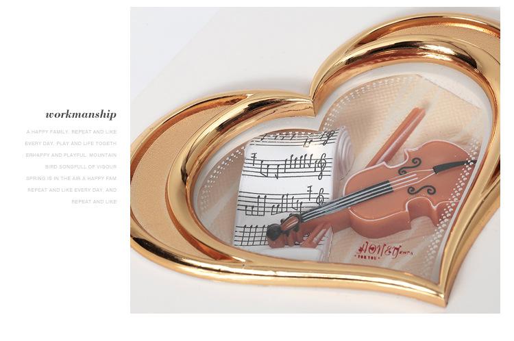 Classical Elegant Violin Quartet Jewelry Box Creative Rotating Dancing Girl Music Box Music Box Boutique 6