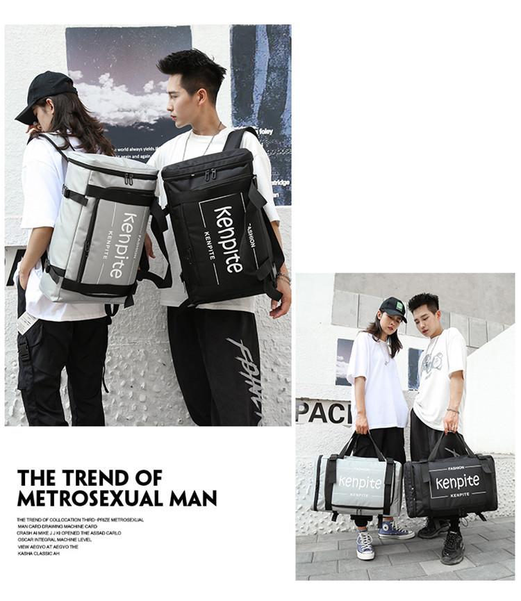 Outdoor Multifunctional Handbag Backpack Computer Bag School Bag Student Large Capacity Travel Backpack 4