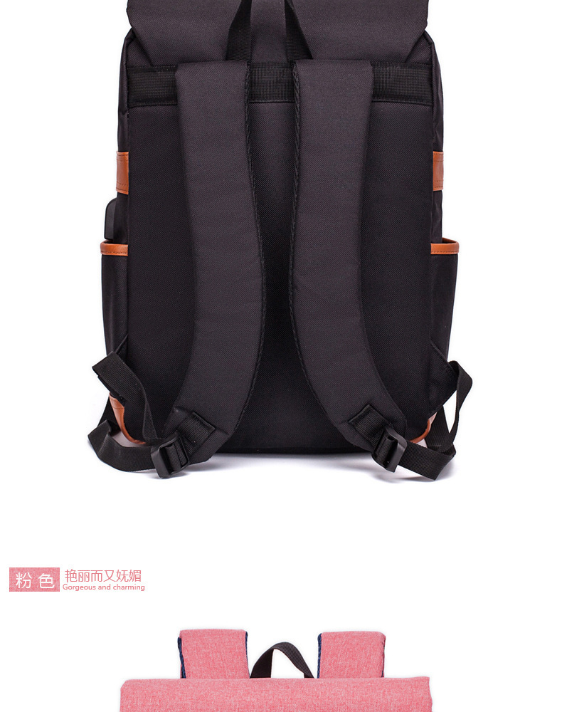 Spot Backpack Charging USB Computer Backpack Business Double Backpack Outdoor Backpack Gift Computer Backpack For Men And Wemon 1