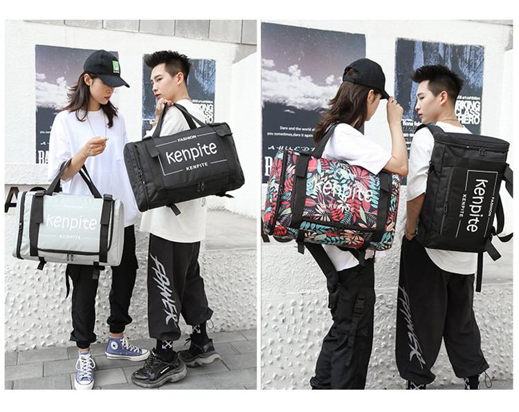 Outdoor Multifunctional Handbag Backpack Computer Bag School Bag Student Large Capacity Travel Backpack 5