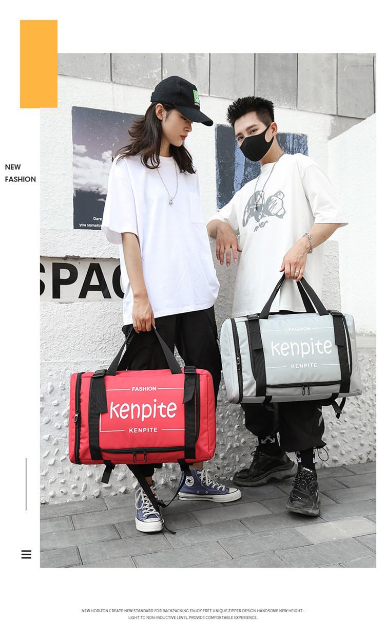 Outdoor Multifunctional Handbag Backpack Computer Bag School Bag Student Large Capacity Travel Backpack 2
