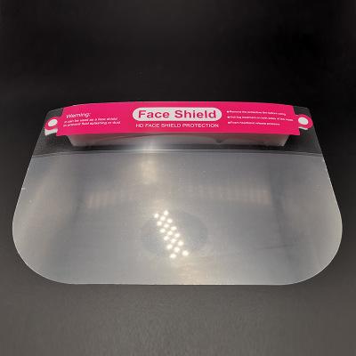 Wholesale PET Children's Protective Mask Anti-fog Transparent Anti-splash Face Shield manufacturers  3