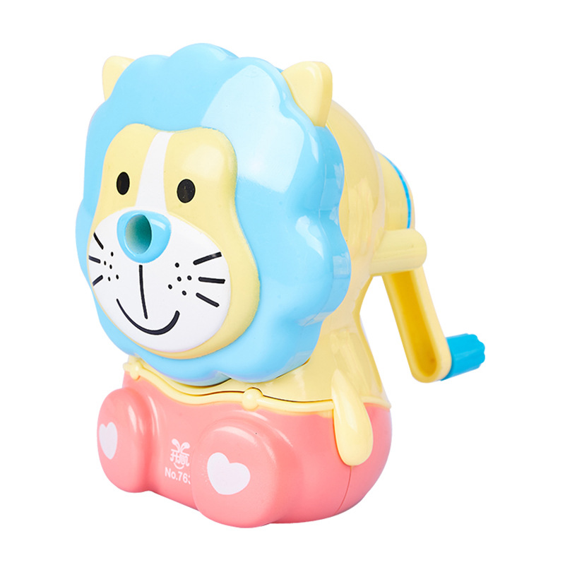 Cute And Fashion Pencil Sharpener With Little Lion  Design Creative Gift For Students 3