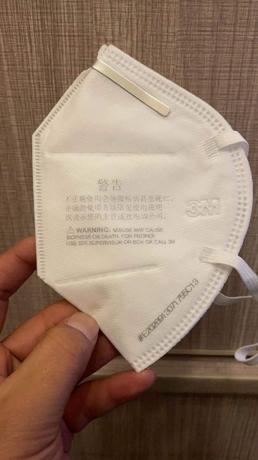 3M 9502+ NIOSH N95 Anti-dust Filter Anti-haze Head-Mounted Mask 3M N95 Mask 50 Pcs 2
