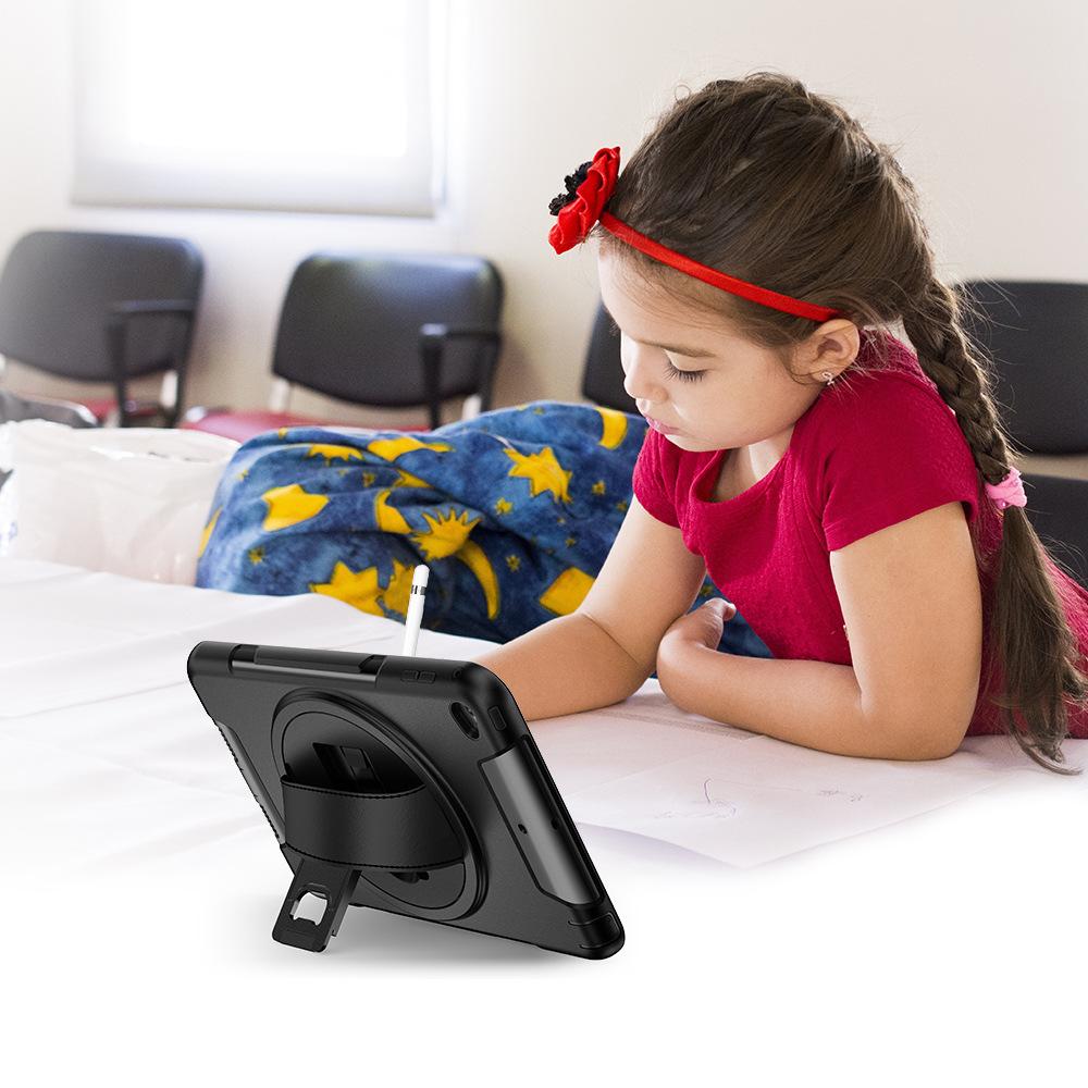 iPad Mini45 Hand Strap Protective Cover 360° Rotating Handheld Protective Cover Three-proof Protective Shell 3