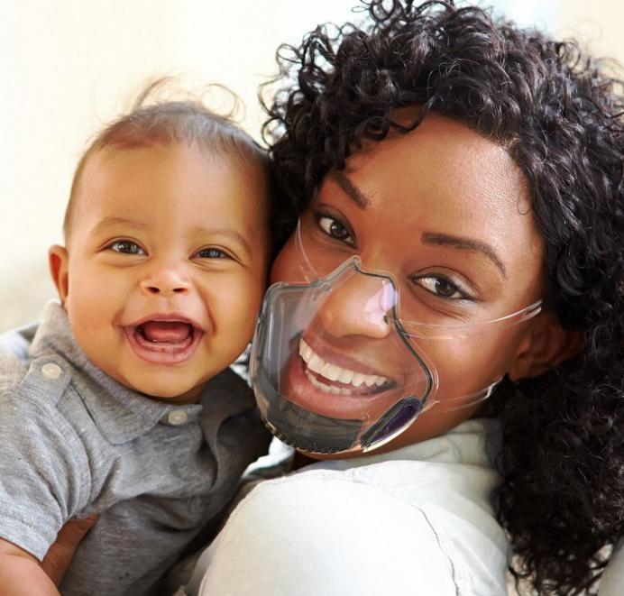 Pc Mask Lip Mask Transparent Protective Mask Anti Splash Isolation Mask Super Clear Transparent Explosive 0