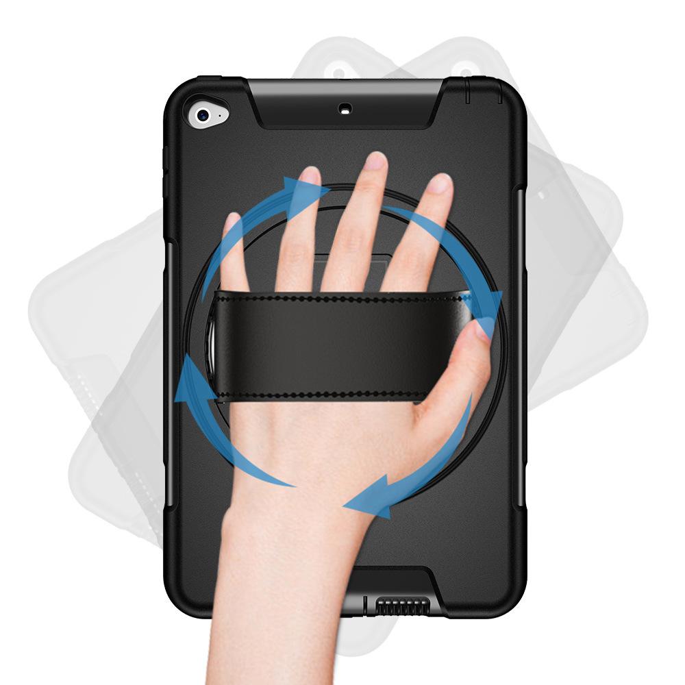 iPad Mini45 Hand Strap Protective Cover 360° Rotating Handheld Protective Cover Three-proof Protective Shell 4