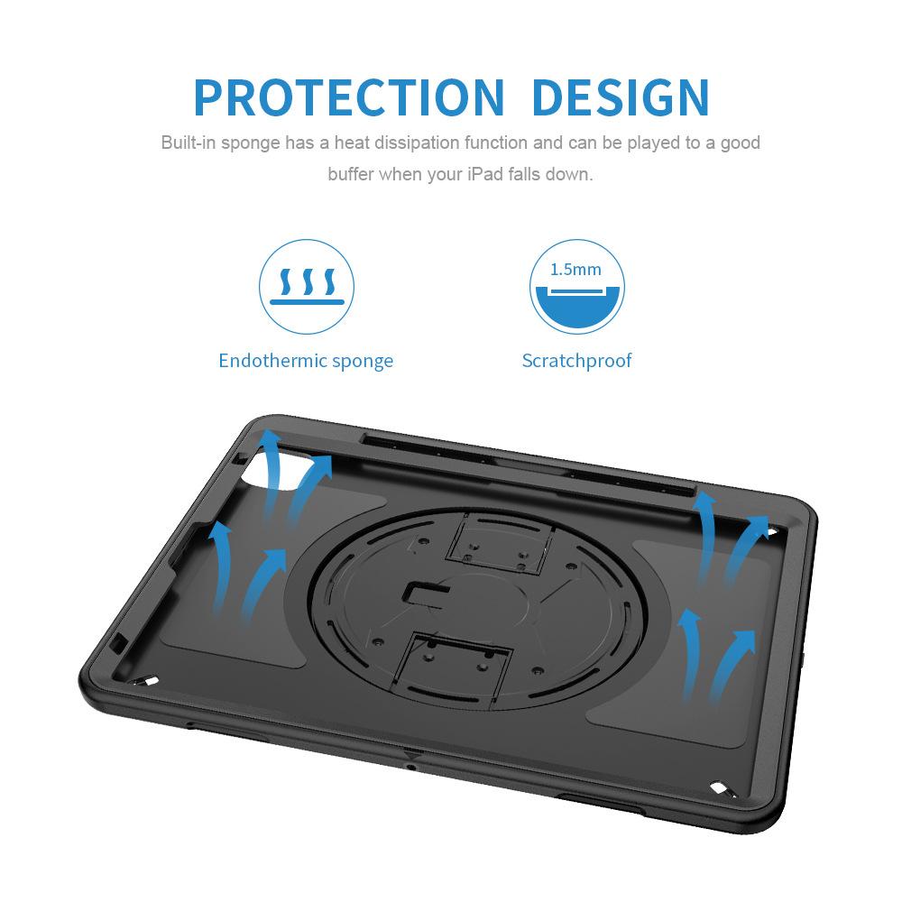 Anti-drop Flat Shell 2018ipad TPU Protective Cover Suitable For 2020 Apple ipad Pro11  9
