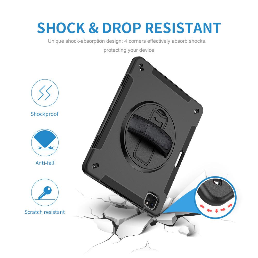 Anti-drop Flat Shell 2018ipad TPU Protective Cover Suitable For 2020 Apple ipad Pro11  7