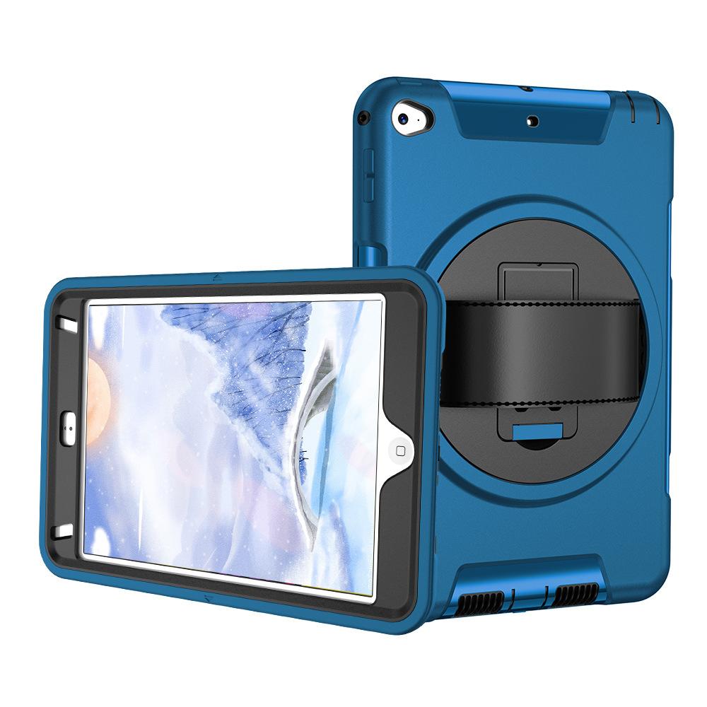 iPad Mini45 Hand Strap Protective Cover 360° Rotating Handheld Protective Cover Three-proof Protective Shell 5