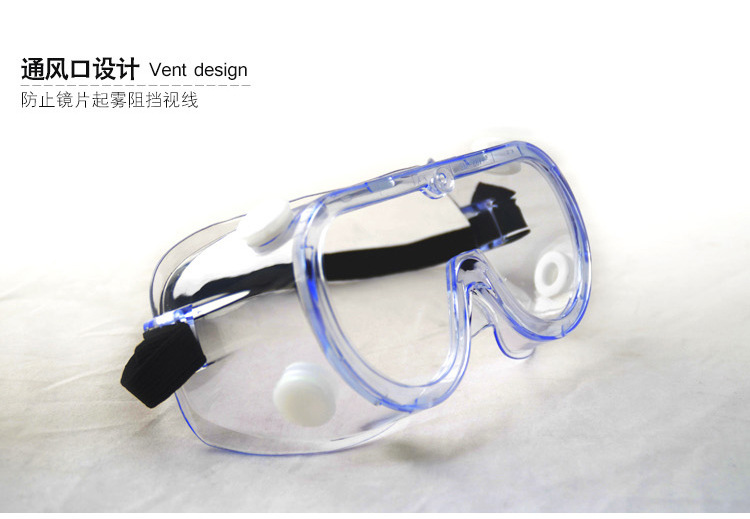 3M 1621 Goggles Polycarbonate Lens Splash-proof Chemical-proof and UV-proof Protective Goggles 4