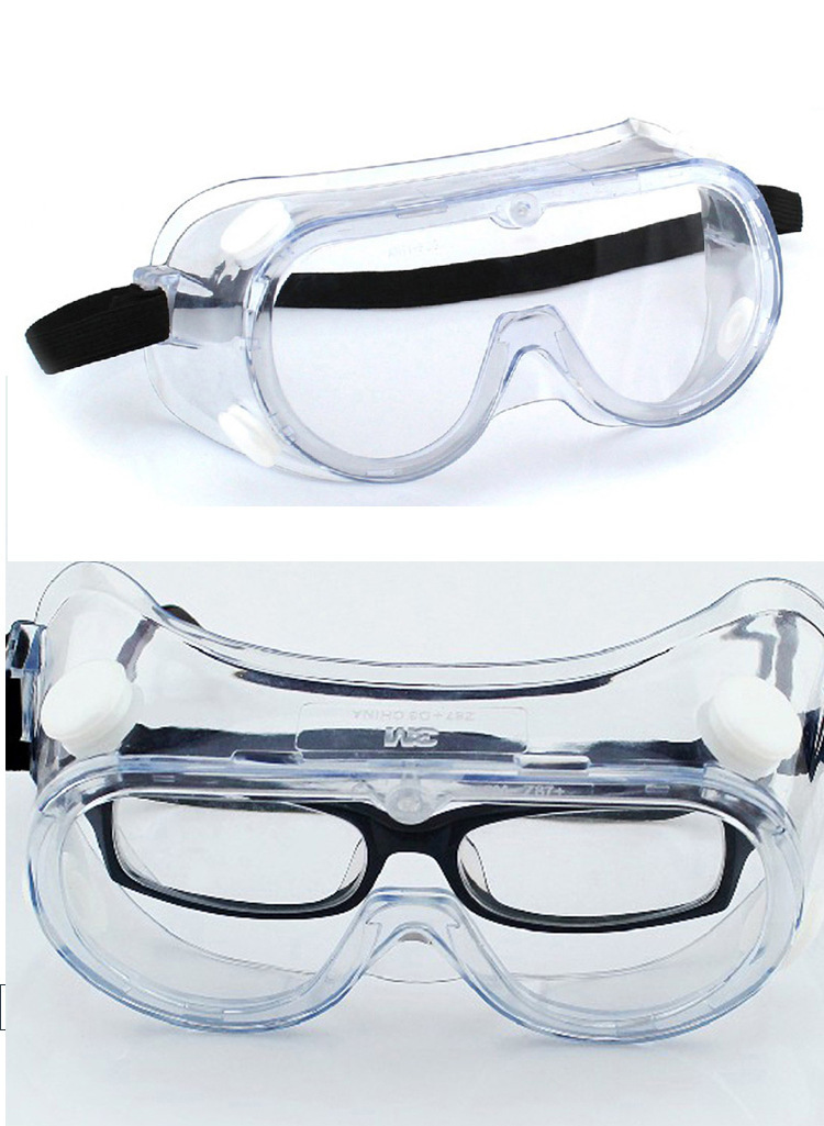 3M 1621 Goggles Polycarbonate Lens Splash-proof Chemical-proof and UV-proof Protective Goggles 5