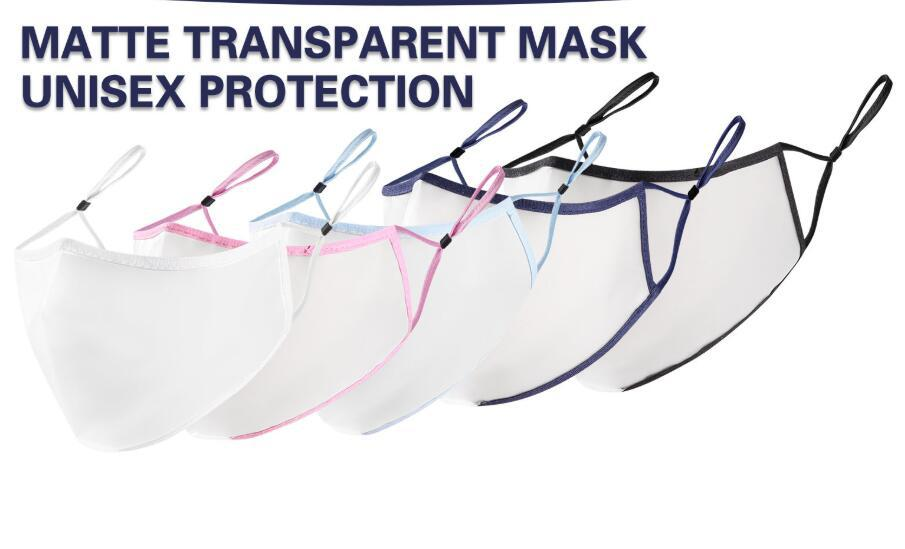 Hot Selling Adult Three-dimensional Matte Transparent Protective Mask 1