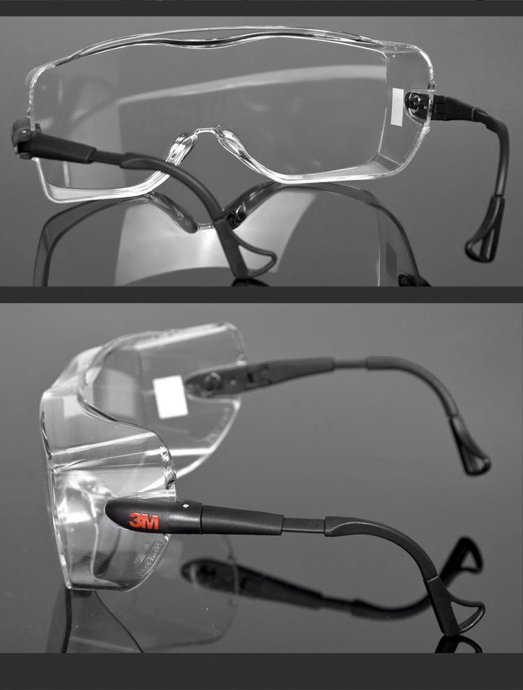 3M 12308 Goggles Can Wear Myopia Glasses Wind Sand Fog Goggles 1
