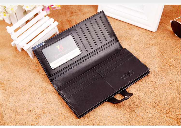 Long wallet Cross-border E-commerce Wallet Button Bag Suit Bag For Men 4