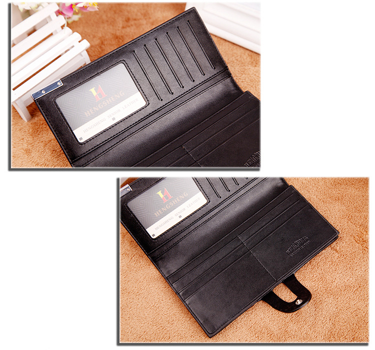 Long wallet Cross-border E-commerce Wallet Button Bag Suit Bag For Men 6