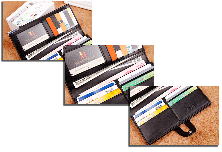 Long wallet Cross-border E-commerce Wallet Button Bag Suit Bag For Men 7