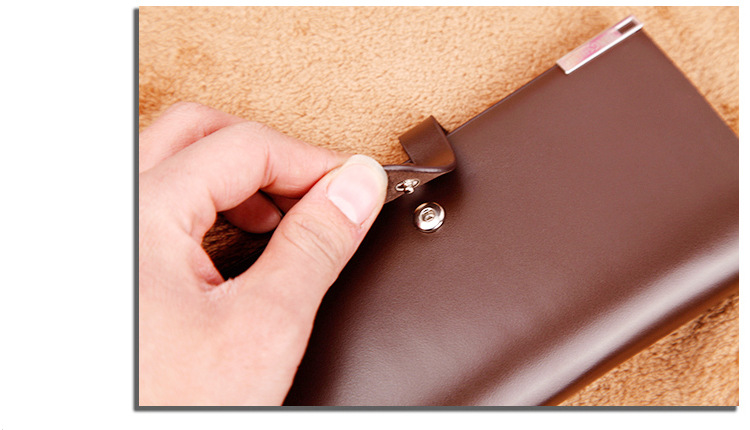 Long wallet Cross-border E-commerce Wallet Button Bag Suit Bag For Men 3