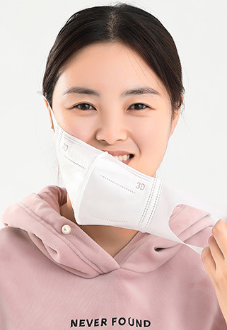 Three Layer Big Face Dust Proof Comfortable 3d Mask for Adults and Children 1