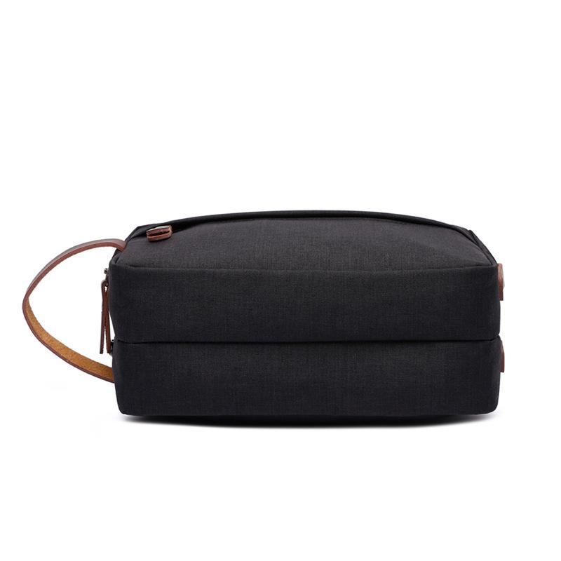 Canvas Cosmetic Bag Storage Bag Wash Bag Portable Waterproof Snowflake Material Coin Purse 2