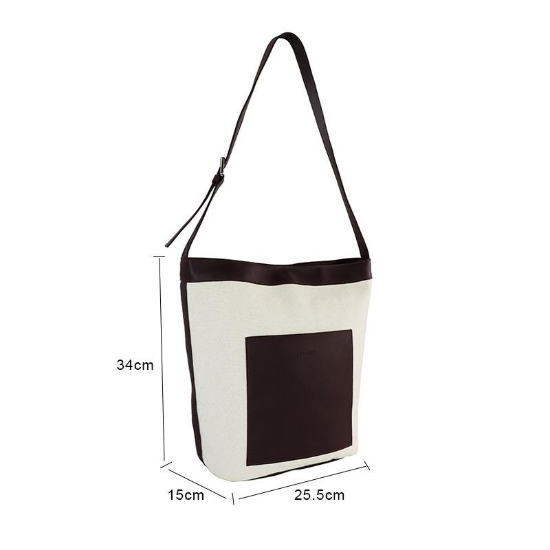 Chinese Style Japanese Small Bag Personality Plain Bag ins Neutral Children Canvas Bag Custom Logo Single Shoulder Bag 4