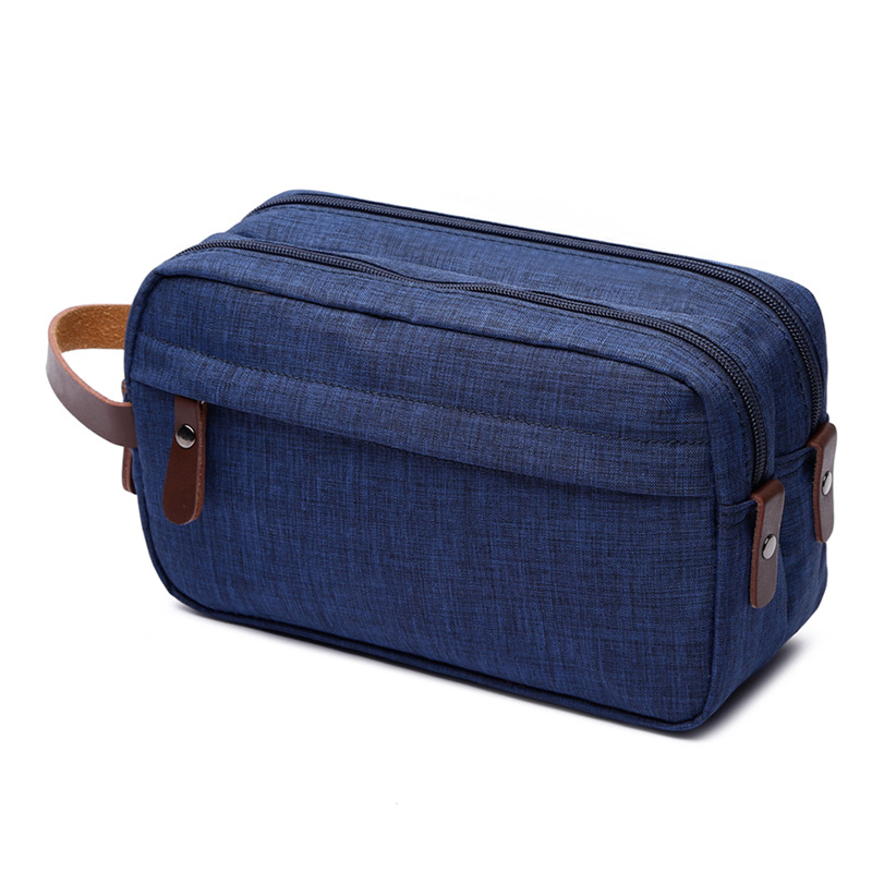 Canvas Cosmetic Bag Storage Bag Wash Bag Portable Waterproof Snowflake Material Coin Purse 5