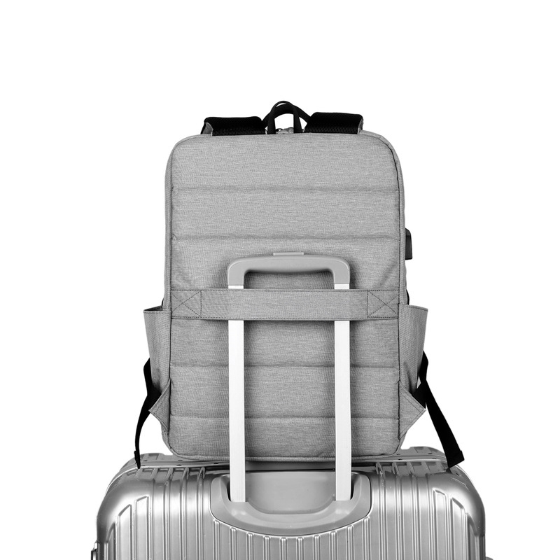 Breathable Wear-resistant And Waterproof Load-reducing USB Computer Backpack School Bag For Men And Women 4