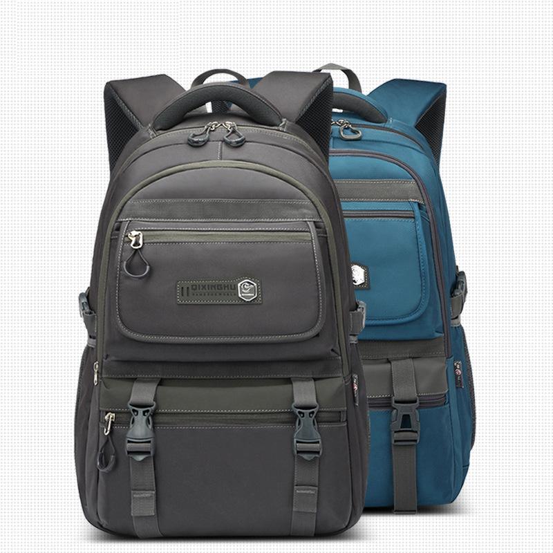 Large Capacity Backpack Travel Business Casual Men's Laptop Bag Portable Messenger Bag 0