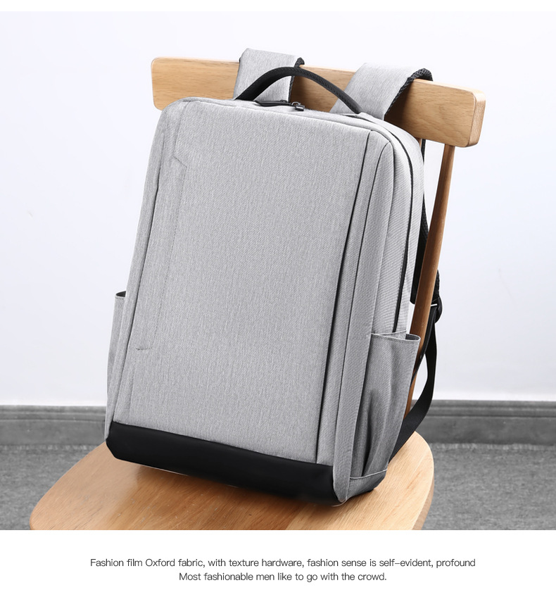 Breathable Wear-resistant And Waterproof Load-reducing USB Computer Backpack School Bag For Men And Women 1