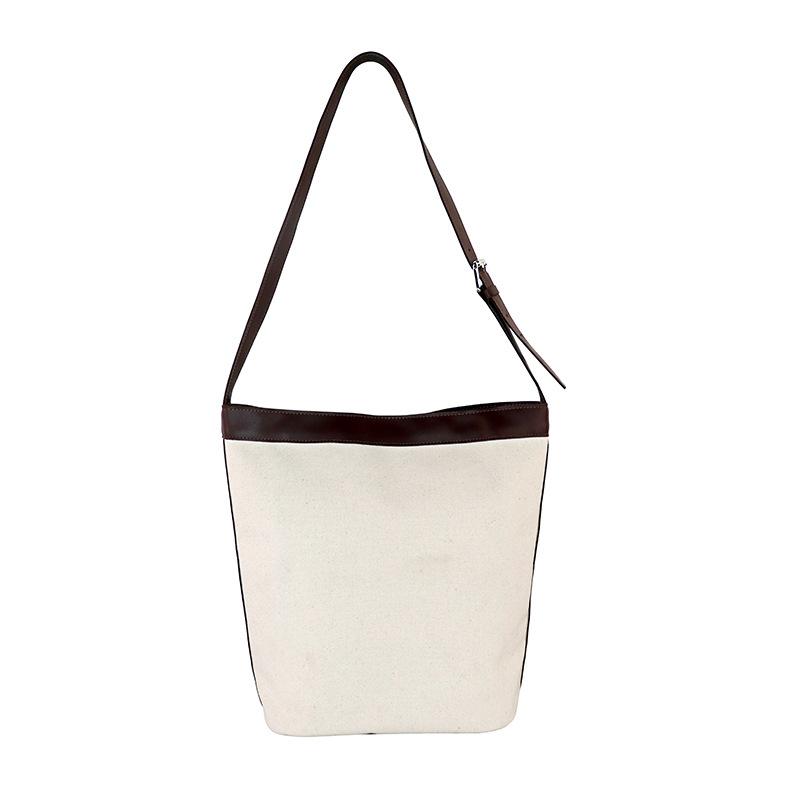 Chinese Style Japanese Small Bag Personality Plain Bag ins Neutral Children Canvas Bag Custom Logo Single Shoulder Bag 3
