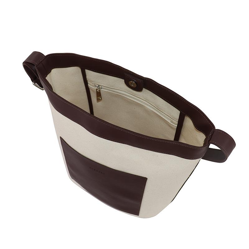 Chinese Style Japanese Small Bag Personality Plain Bag ins Neutral Children Canvas Bag Custom Logo Single Shoulder Bag 2