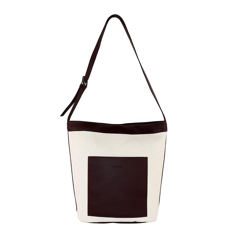 Chinese Style Japanese Small Bag Personality Plain Bag ins Neutral Children Canvas Bag Custom Logo Single Shoulder Bag 0
