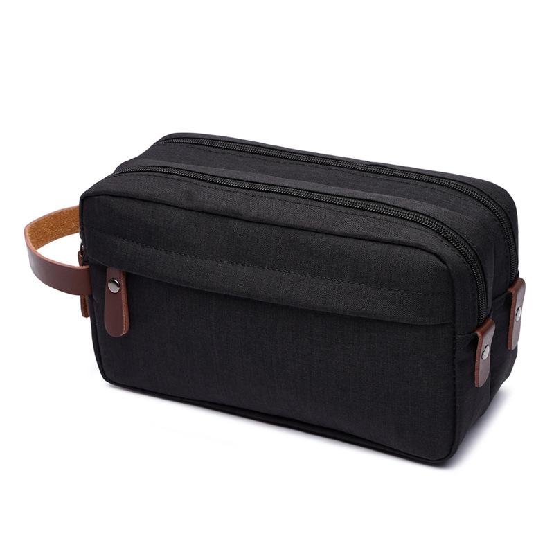 Canvas Cosmetic Bag Storage Bag Wash Bag Portable Waterproof Snowflake Material Coin Purse 7