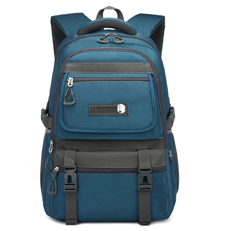 Large Capacity Backpack Travel Business Casual Men's Laptop Bag Portable Messenger Bag 2