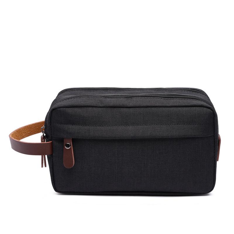 Canvas Cosmetic Bag Storage Bag Wash Bag Portable Waterproof Snowflake Material Coin Purse 0