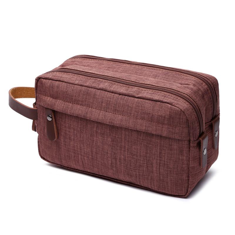 Canvas Cosmetic Bag Storage Bag Wash Bag Portable Waterproof Snowflake Material Coin Purse 6