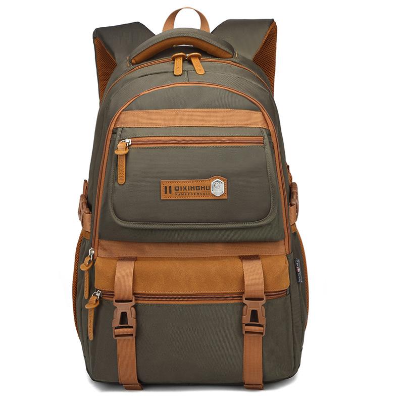 Large Capacity Backpack Travel Business Casual Men's Laptop Bag Portable Messenger Bag 3