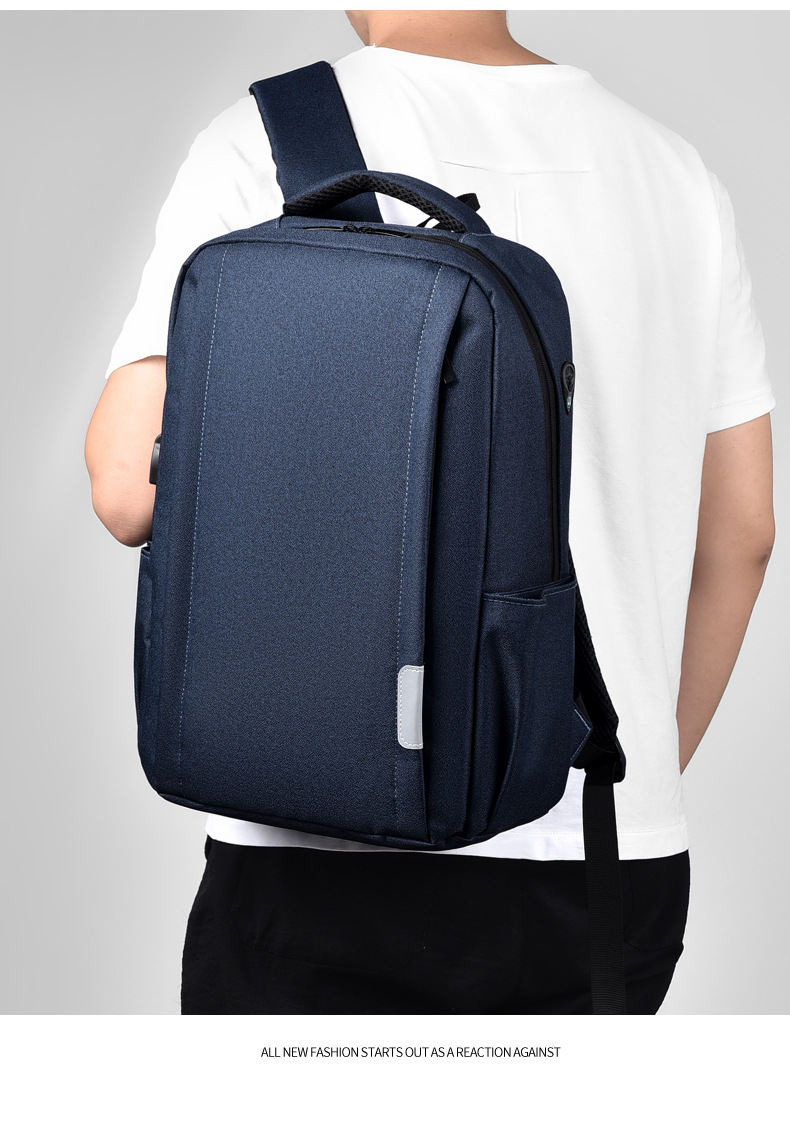 Travel Backpack Large Capacity Business Leisure Computer Bag Student School Bag Charging Anti-theft Backpack 0
