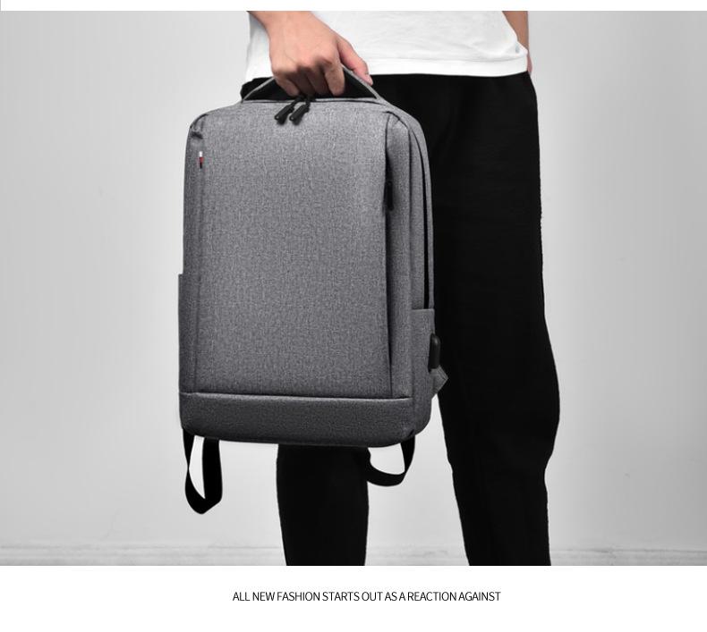 Leisure Travel Backpack Waterproof Student Trend Schoolbag Female Computer Bag 15.6-inch 1