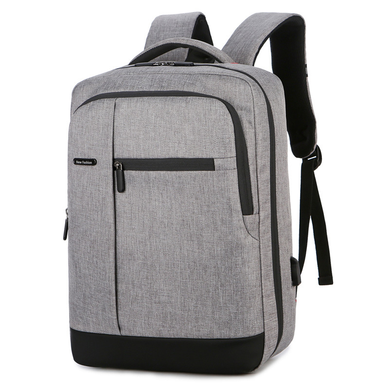 Computer Backpack Outdoor Leisure Backpack Wear-resistant Scratch-resistant Oxford Cloth Backpack 1
