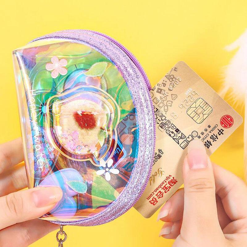 Laser Coin Purse Short Student Fashion ins Multifunctional Cartoon Small Fresh Storage Bag 4